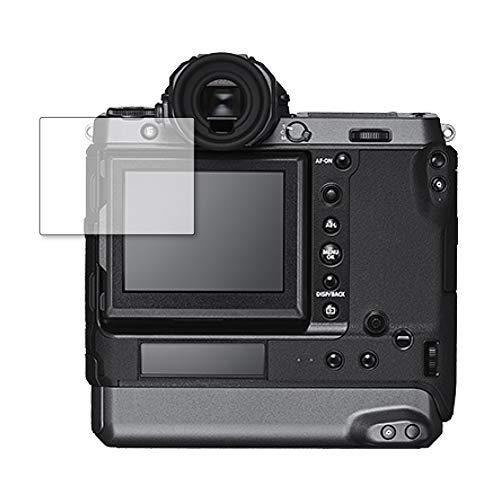 メディアカバーマーケット【専用】FUJIFILM GFX100 機種用【強化ガラス同等の硬度9H ブルーライトカット クリア光沢 液晶保護 フィルム】