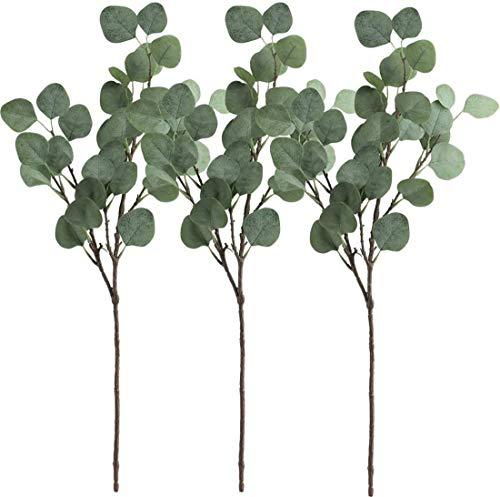 Gshy - Ramas de eucalipto artificial para fiesta, boda, deco