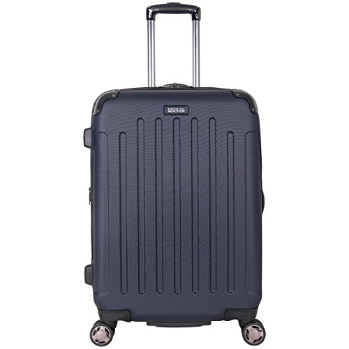 "Kenneth Cole Reaction Renegade 24"" ABS Expandable 8-Wheel Upright, Navy, inch Checked"