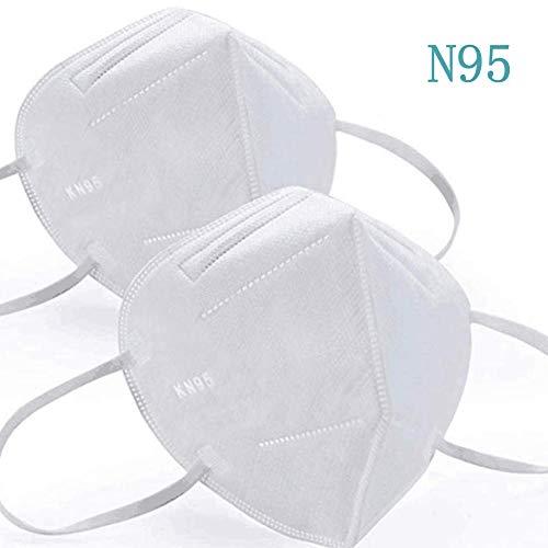 5/10/15/20 / 30PCS KN95 N95 FFP2 PM2.5 Protezione di Sicurezza KN95 Anti FFP2 Polvere Protezione Esterna Viso Protectionnti-Dust Protetta Salute,15PCS