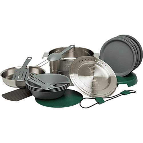 Stanley Base Camp Cook Set for 4   21 Pcs Nesting Cookware Made...