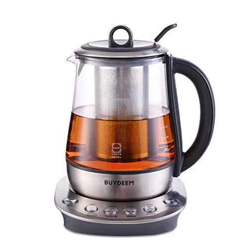 Buydeem K2423 Tea Maker, Durable 316 Stainless Steel &...