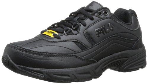 Fila Women's Memory Workshift Cross-Training Shoe,Black/Black/Black,8.5 M US