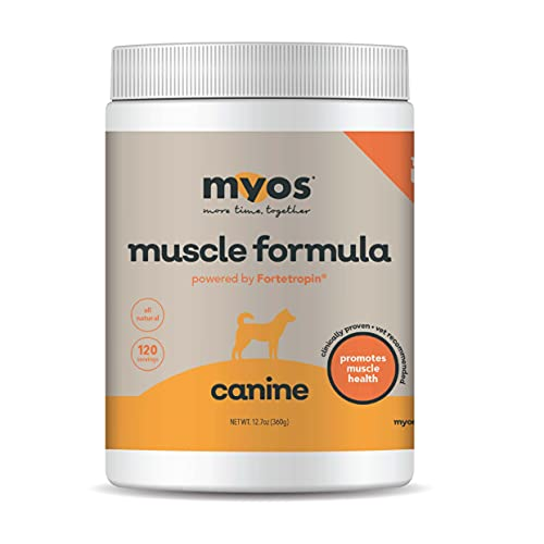 MYOS Canine Muscle Formula - Clinically Proven...