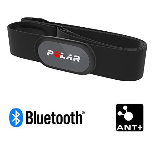 Polar H9 Herzfrequenz-Sensor – ANT+ Bluetooth - Wasserdichter HF-Sensor mit weichem Brustgurt für Fitnesstraining, Radfahren, Laufen, Outdoor-Sportarten