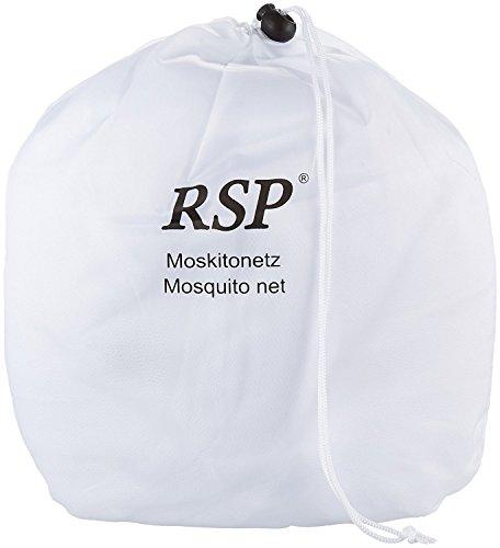 RSP Moskitonetz Travel XXL - auch für Doppelbetten – das Original, Weiß - 0,63 x 3 x 13,5m