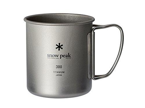 スノーピーク(snow peak) マグ・シェラカップ チタン シングルマグ 容量300ml MG-142