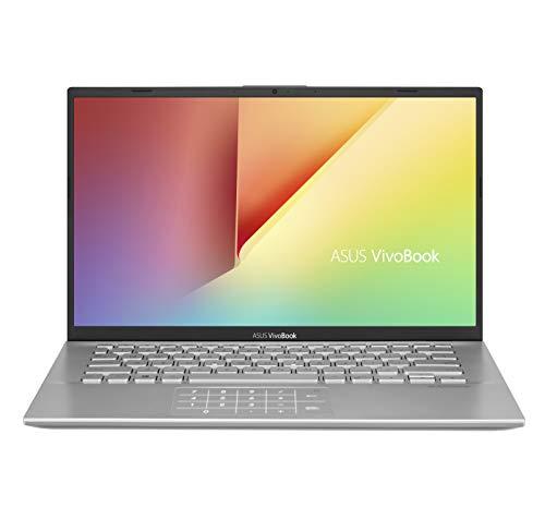 ASUS Vivobook S S412FA-EK870T PC Portable 14'' (Intel Core i3-10110U, RAM 8Go, 256Go SSD PCIE, Windows 10 Home S) Clavier AZERTY Français