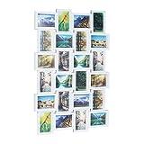 Relaxdays 10021954 Cadre photos pêle-mêle 24 photos Galerie mur cadre...