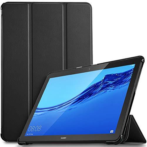IVSO Custodia Cover per Huawei Mediapad T5 10, Slim Smart Protettiva Custodia Cover in pelle PU per...