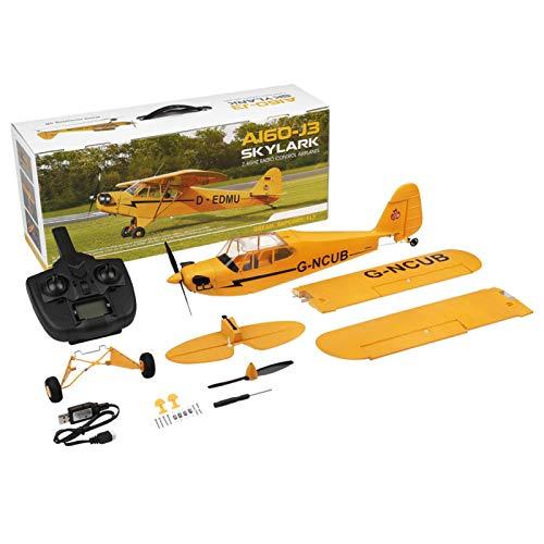 Modello di Drone Aereo, Aereo RC ad Ala Fissa A160 Durevole ad Alta efficienza a Cinque canali, Drone RC con Telecomando