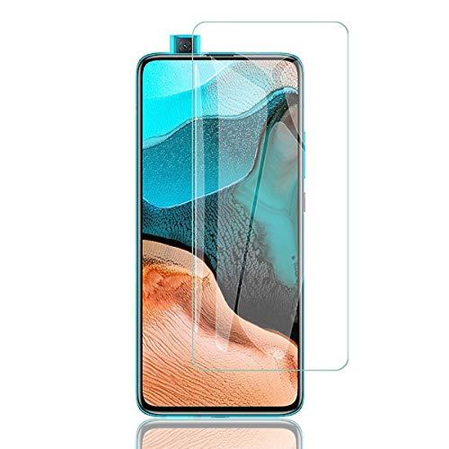 【二枚】Xiaomi POCO F2 Pro/Redmi K30 Pro 5G 対応 ガラスフィルム KAKUP 日本製素材旭硝子製 2.5Dラウン...