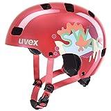 uvex Kid 3, Casco Bicicletta Unisex Bambino, Coral, 55-58 cm