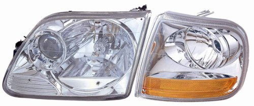 DEPO 330-1119PXASC1 Replacement Headlight Set (This product is an aftermarket product. It is not created or sold by the OE car company)