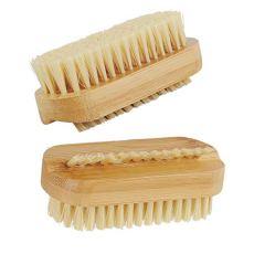 2pcs Cepillos para Uñas Cepillo de Uñas de Madera Cepillo de Limpieza para uñas Cepillo de Mano de Fregar Limpieza Cepillo de Uñas Pequeño para Limpieza de Manos, para Niños y Adultos