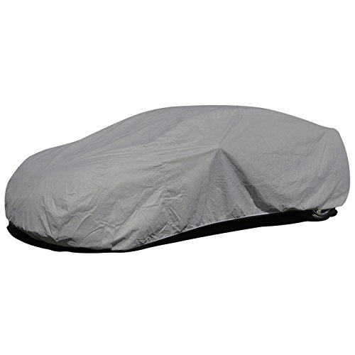 Budge SB-2 Lite Station Wagon Cover Indoor, Dustproof, UV Resistant Station Wagon Cover Fits Full Size Station Wagons up to 200', Gray, Size S2: Fits up to 16'8'