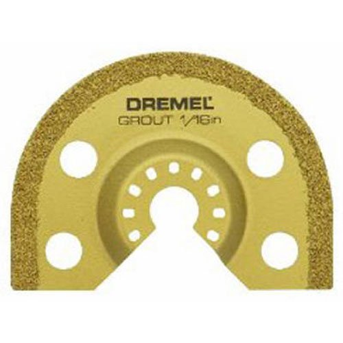 Dremel MM501 Universal Quick-Fit 1/16-Inch Multi-Max Oscillating Tool Grout Blade- Multi Tool Accessory
