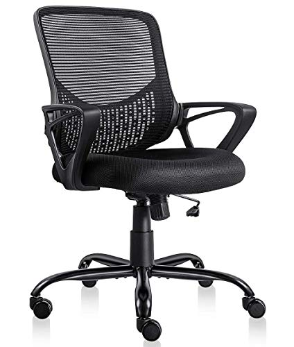 Ergonomic Office Desk Chair Adjustable Mesh...