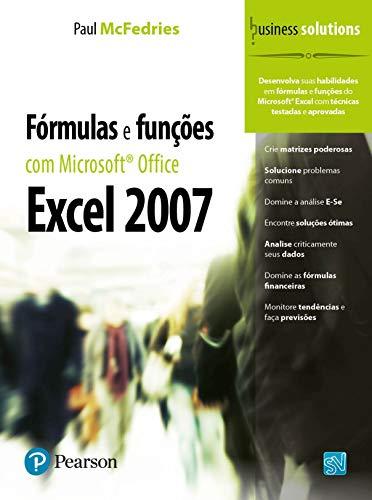 Fórmulas y funciones con Microsoft® Office Excel 2007