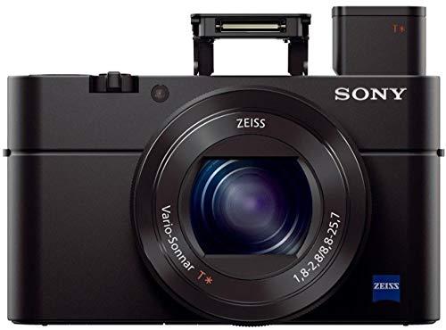 Sony RX100 III 20.1 MP Premium Compact Digital Camera w/1-inch Sensor and 24-70mm F1.8-2.8 ZEISS Zoom Lens (DSCRX100M3/B)