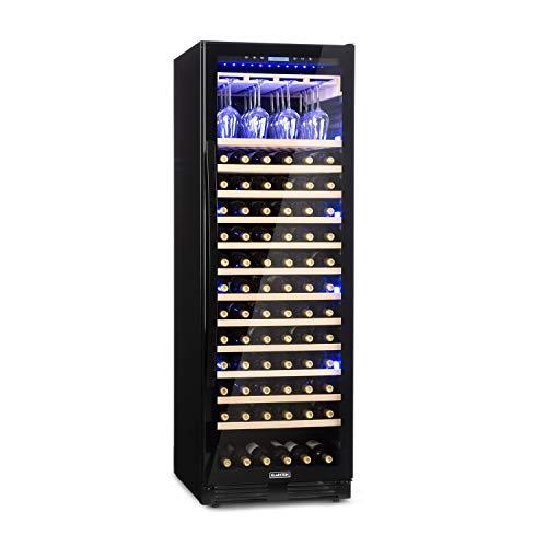 KLARSTEIN Vinovilla Grande Onyx - Frigo Vino, Cantinetta, 433 L, 165 Bottiglie, Classe A,...