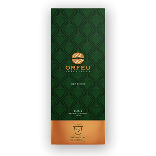 Classic Orpheus Coffee Capsules, Nespresso Compatible, Contains 10 Capsules