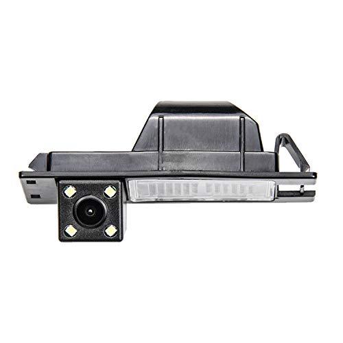 HD Fotocamera Telecamera per la Retromarcia per utilizzare alla luce Targa Retrocamera, telecamera posteriore per Opel Astra J Astra H/Opel Zafira B/Corsa D/Vectra C/Insignia/Vauxhall Signum