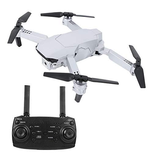 Jeanoko Drone pieghevole ad alta definizione per Natale, regalo di compleanno per principianti e bambini, 1080 p, colore: argento