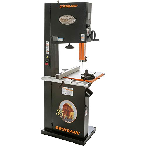 Grizzly Industrial G0513ANV - 17' 2 HP Bandsaw - 35th Anniversary Edition