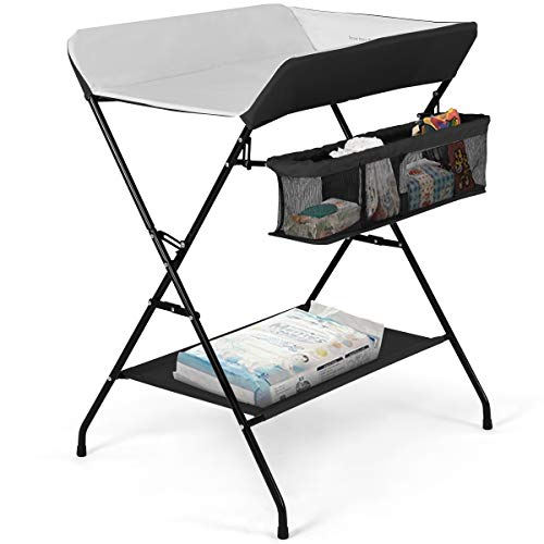 Costzon Baby Changing Table, Folding Diaper...