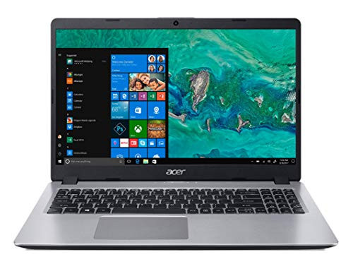 Notebook Acer Aspire 5 A515-52G-577T, Intel Core i5-8265U, NVIDIA GeForce MX130, 8 GB RAM, HD 1000 GB HDD(GB), Tela 15.6' HD Acer ComfyView TN LED LCD, Acabamento em Alumínio, Prata