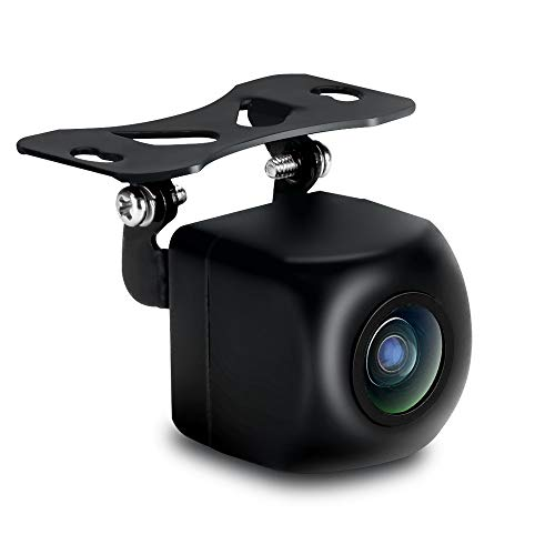 Telecamera di retromarcia per auto Telecamera per retromarcia con ottima visione notturna IP68 Impermeabile, telecamera per la retromarcia Ampio angolo di visione Registrazione ad anello 12V