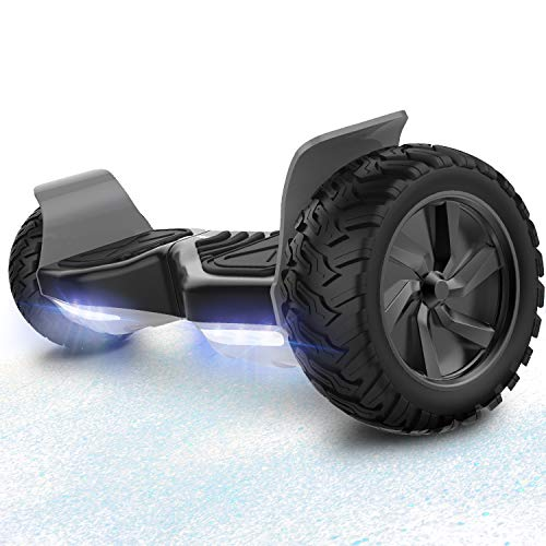 RCB Hoverboard Overboard Tout Terrain Auto-équilibrant Scooter électrique Gyropode 8.5 '' Hummer Off-Road Bluetooth Bluetooth LED avec Moteur Puissant