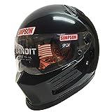 SIMPSON(シンプソン) バイクヘルメット フルフェイス BANDIT Pro ブラック 59cm