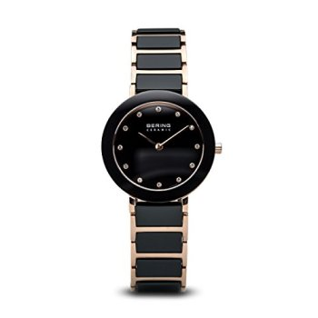 BERING Time   Women's Slim Watch 11429-746   29MM Case   Ceramic Collection   Stainless Steel Strap with Ceramic Links   Scratch-Resistant Sapphire Crystal   Minimalistic - Designed in Denmark