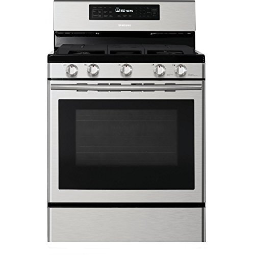 Samsung NX58H5600SS 30 In. Freestanding Gas Range with...