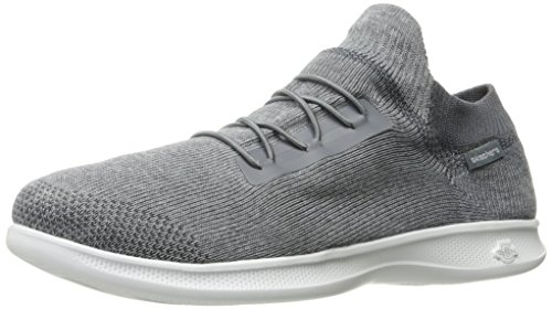 Skechers Go Step Lite - Effortless, Allenatori Donna, Grigio (Grey), 36 EU