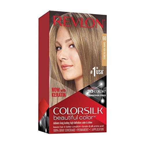 Revlon ColorSilk Tinte de Cabello Permanente Tono #60 Rubio