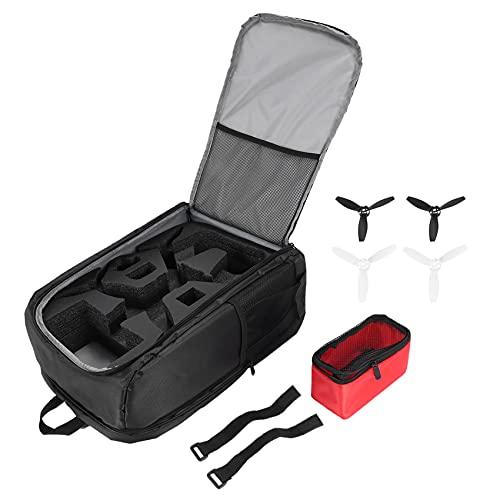 Jesnoe for Parrot Bebop 2 Zaino Tracolla 4 Pz Elica Portatile Custodia da Viaggio Custodia per Parrot Bebop 2 Potenza FPV Drone Accessori