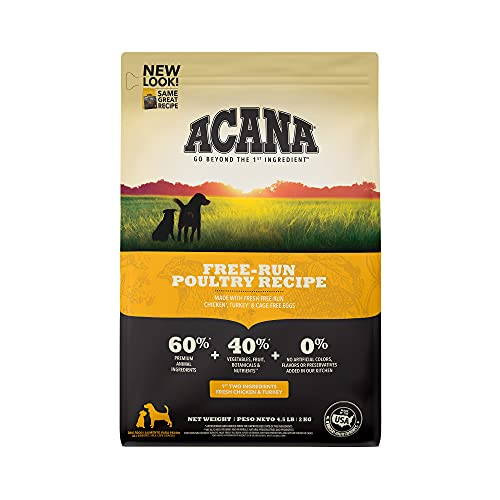 Acana Grain Free Dog Food, Free Run Poultry,...