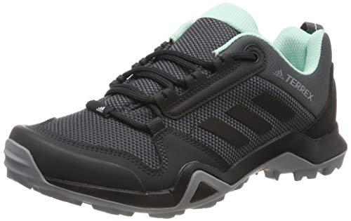 adidas Damen Terrex AX3 W Trekking- & Wanderhalbschuhe, Grau (Grey/Core Black/Clear Mint 0), 40 EU