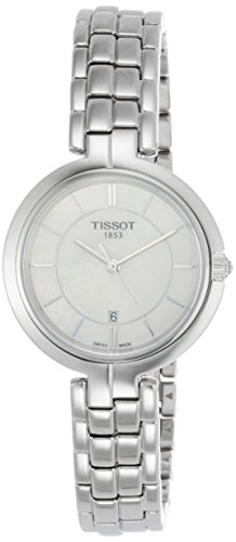 TISSOT Damen Analog Quarz Uhr mit Edelstahl Armband T0942101111100