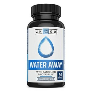 WATER AWAY Herbal Formula for Healthy Fluid Balance - Premium Herbal Blend with Dandelion, Potassium, Green Tea & More - 60 capsules 9 - My Weight Loss Today