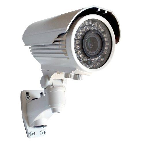 TELECAMERA VIDEOSORVEGLIANZA INFRAROSSI 700 TVL LINEE VARIFOCALE 2,8 12 MM CCD