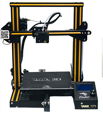 WOL3D ENDER 3 MODEL 2021, ORIGINAL DIY 3D PRINTER WITH RESUME FUNCTION AND EASY TO ASSEMBLE (Print...
