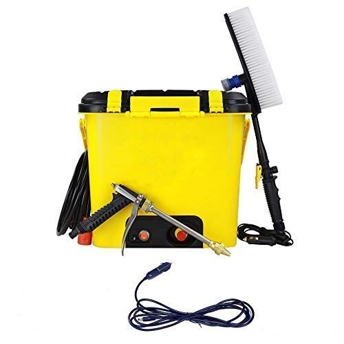SOFLIN Portable High Pressure 16 LTR Car, Bike, Home, Garage, Water Flowers, Wash Doors and Windows, Clean Floors Washer Machine