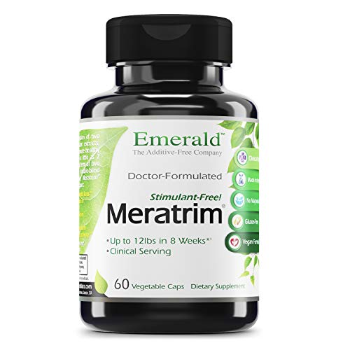 Emerald Labs Meratrim 800 mg - Supports Healthy Weight Loss, Metabolism Support, Appetite Supression Support, Anti-Inflammatory, Nitric Oxide Boost - 60 Capsules