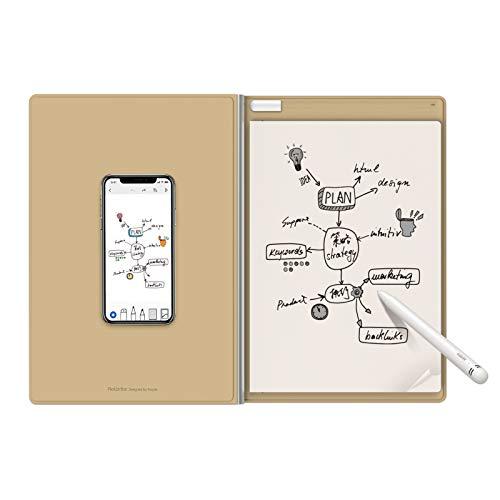 Royole RoWrite2 - Bloc de notas inteligente digital, papel y bolígrafo reales para la oficina y la empresa. Captura digitalmente las notas manuscritas y conviértelas en texto.