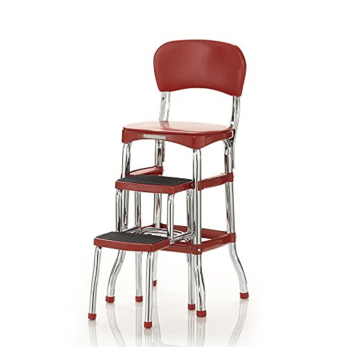 6. Cosco Retro Counter Chair/Step Stool