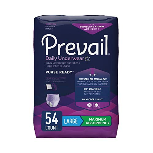 Prevail Maximum Absorbency Incontinence...